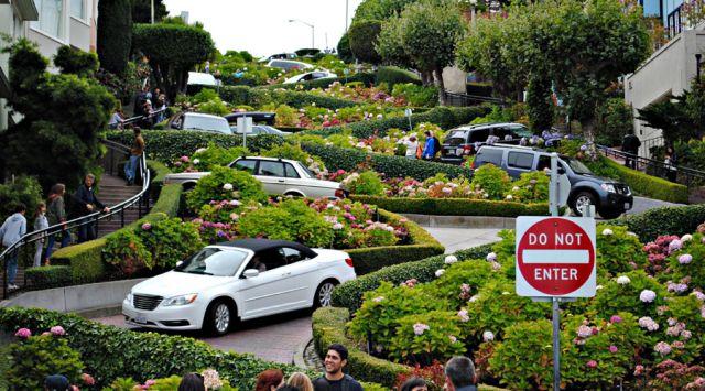 Lombard street à San Fransisco