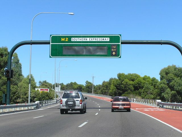 M2 Southern Expressway en Australie